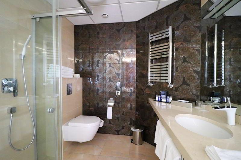 hotel odyssey łazienka