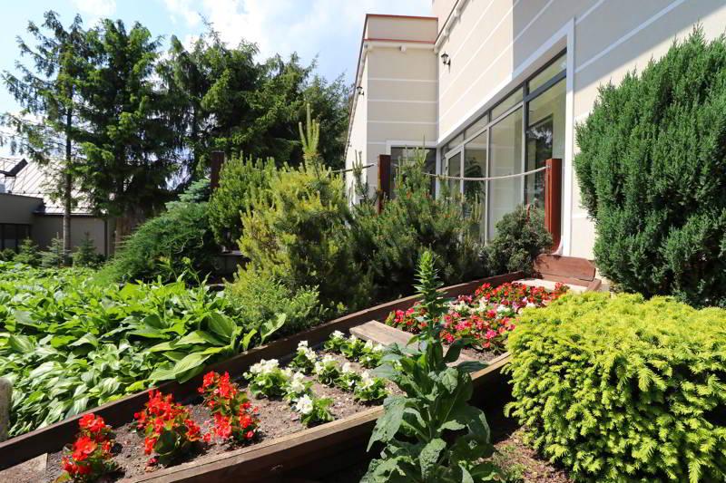hotel Afrodyta ogród