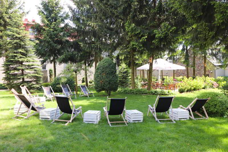 relaks dla dwojga ogród hotel Afrodyta