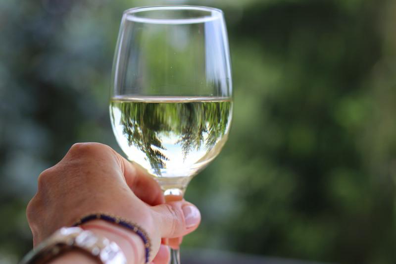 romantyczny weekend wino