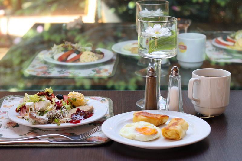 weekend we dwoje śniadanie
