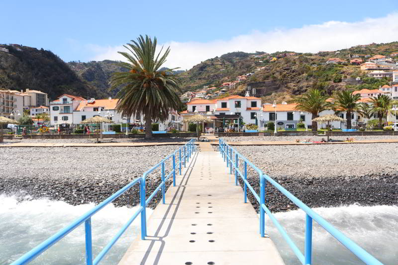plaże madera plaża Santa Cruz