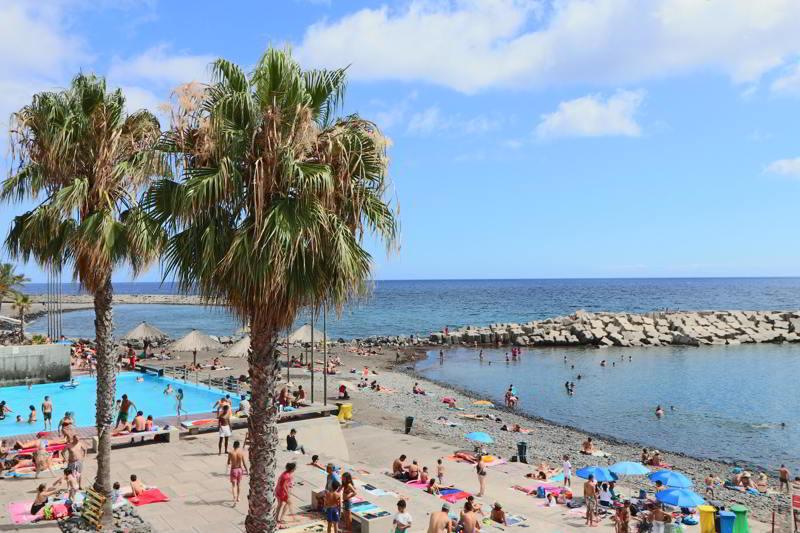 Madera plaże Ribeira Brava