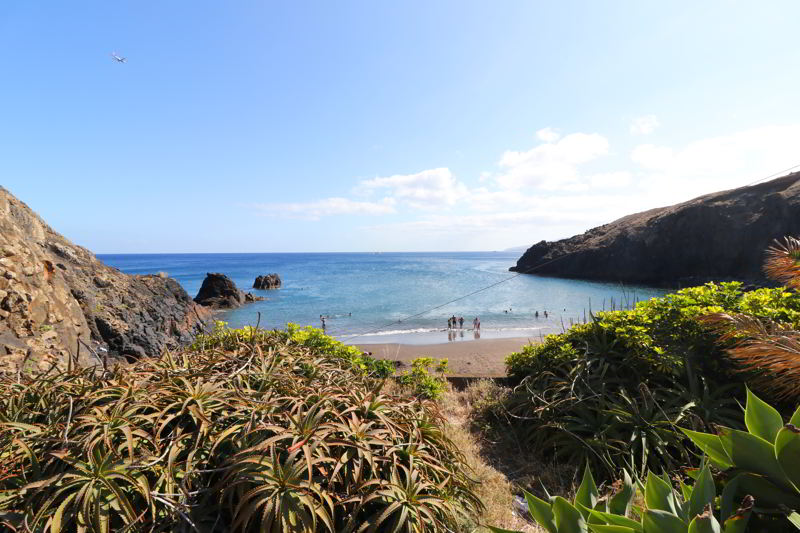 plaże na Maderze praia da prainha