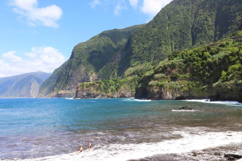 plaże na Maderze Seixal