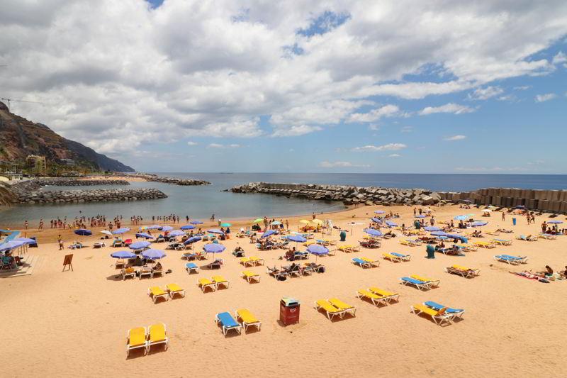 Madera plaże Calheta