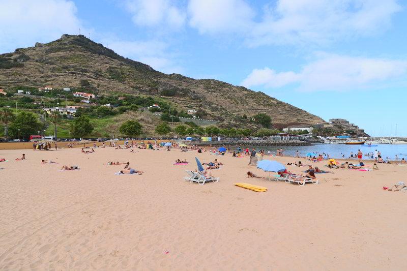 plaże na maderze Machico
