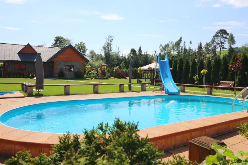 Villa Źródło basen zewnętrzny