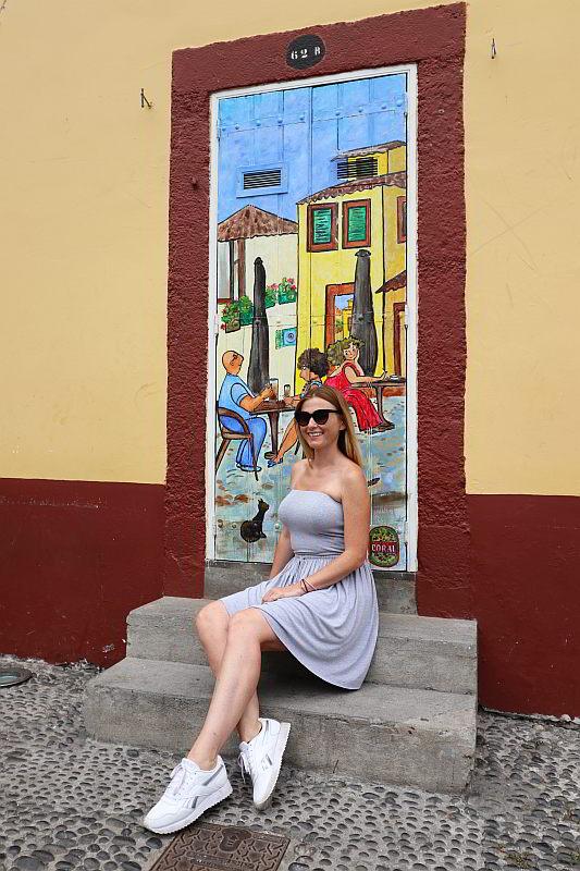 drzwi w Funchal