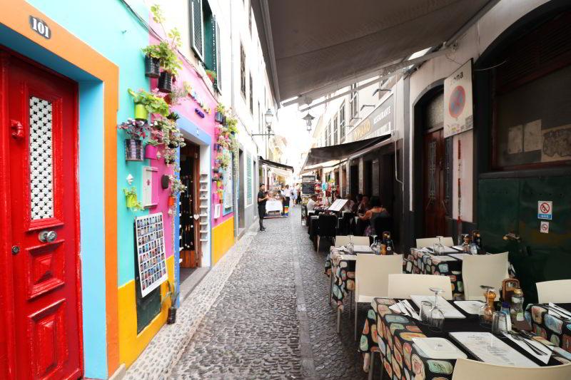 Funchal Stare Miasto