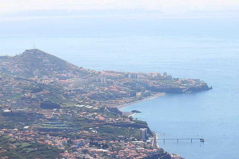 Cabo Girao widok na Funchal