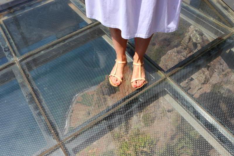 cabo girao szklana podłoga