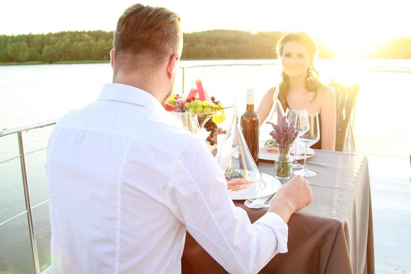 romantyczna kolacja weekend we dwoje