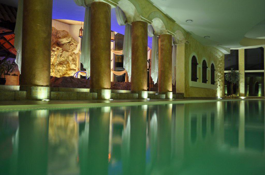 romantyczny weekend basen