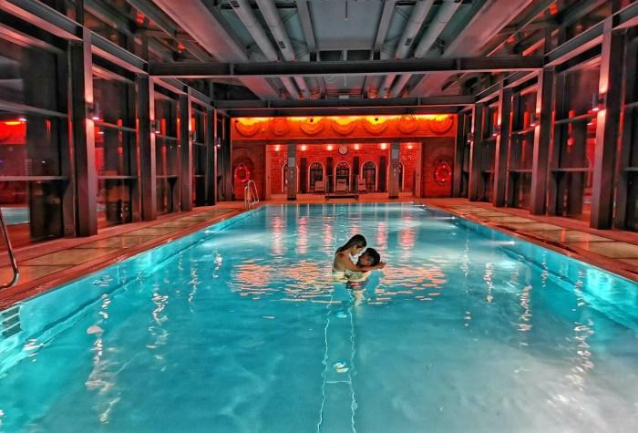 romantyczny weekend we dwoje basen