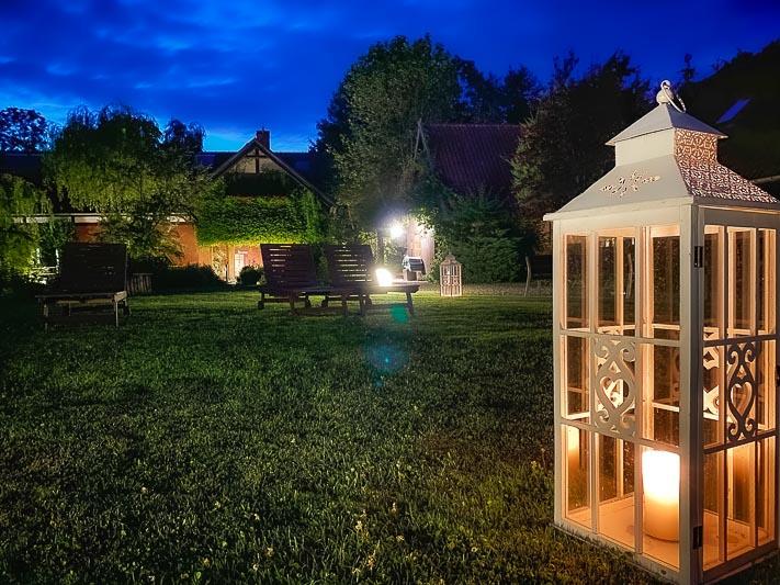 romantyczny weekend ogród