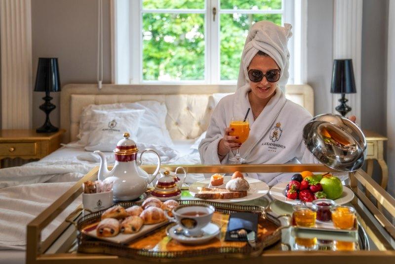romantyczny weekend ze śniadaniem