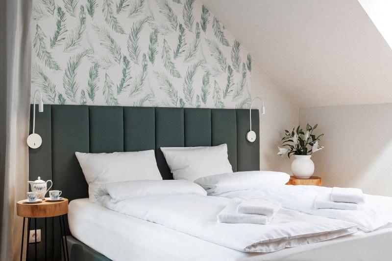 romantyczny weekend łóżko