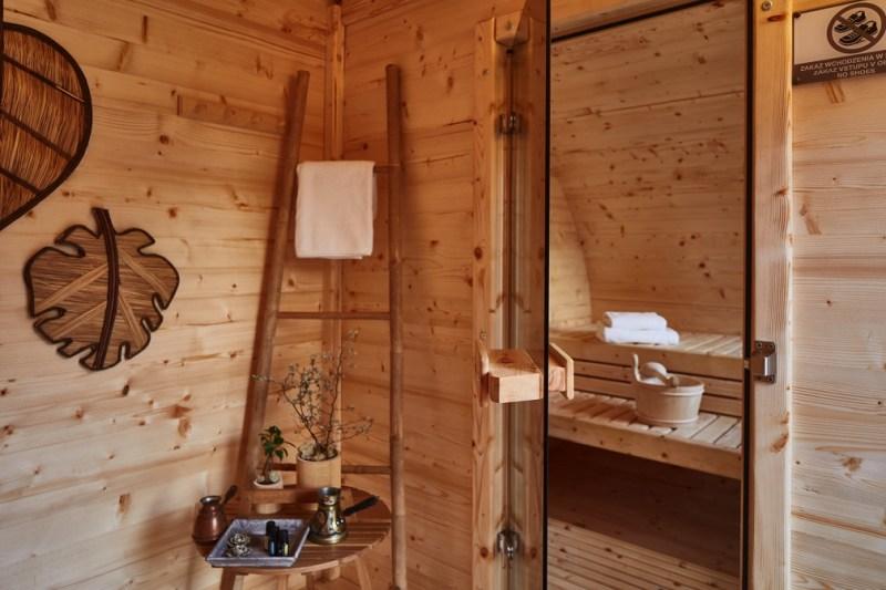 weekend dla dwojga sauna