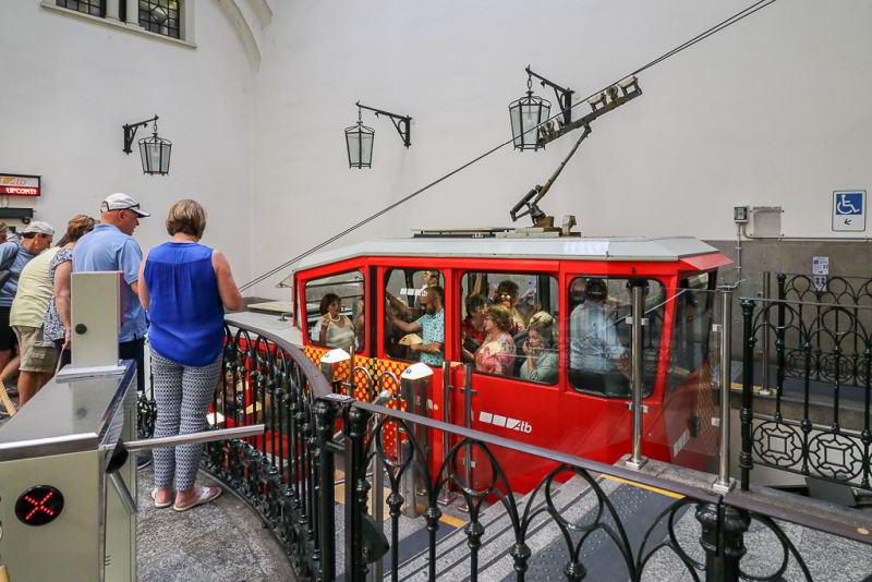 Bergamo kolejka funicolare