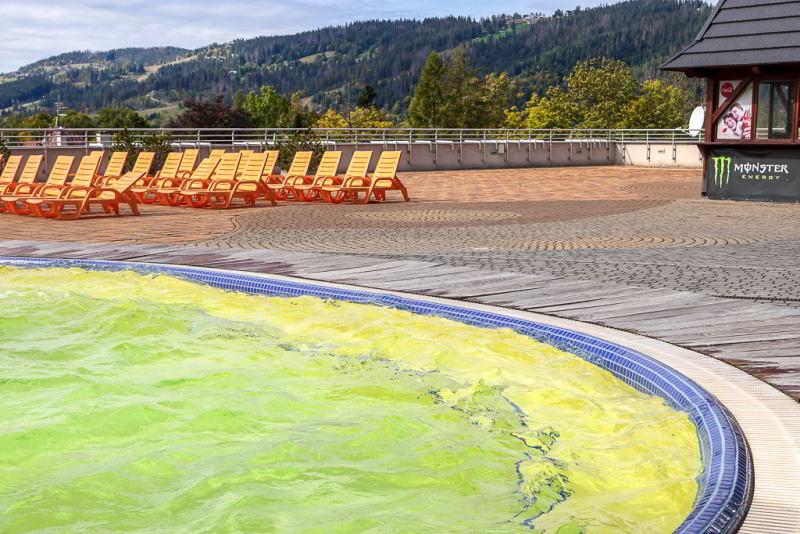 Hotel Aquarion basen balneologiczny
