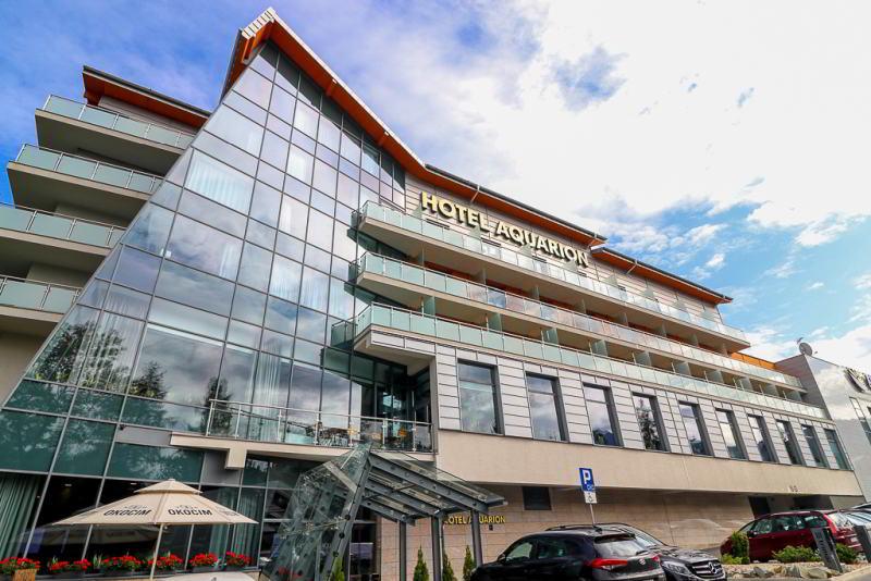 Hotel Aquarion budynek