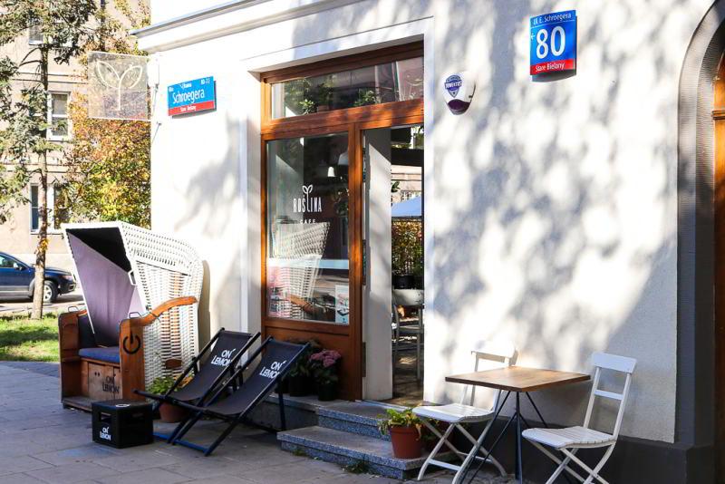 kawiarnia Roślina na Bielanach