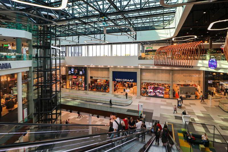 największa galeria handlowa w warszawie na bielanach