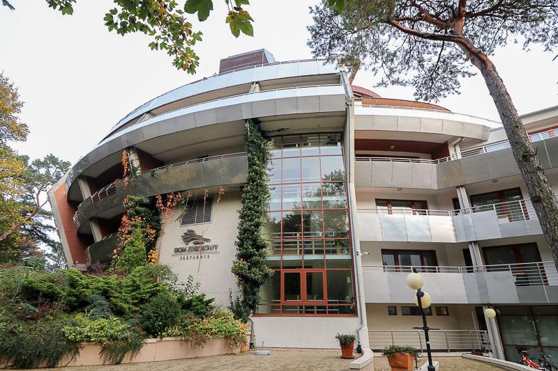 hotel dom zdrojowy jastarnia