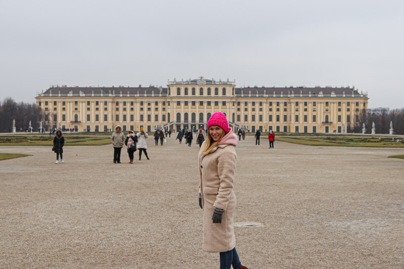 jarmarki w Wiedniu schloss schonbrunn