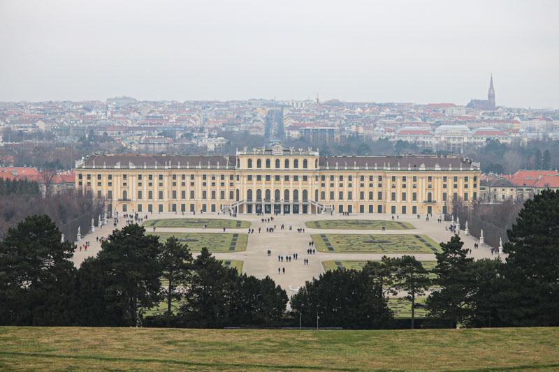 Wiedeń schloss schonbrunn