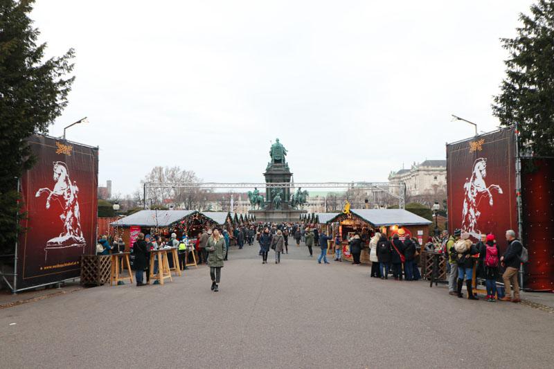 jarmarki w Wiedniu