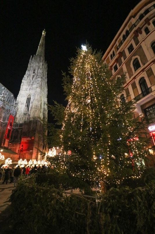 jarmarki Wiedeń Stephansplatz