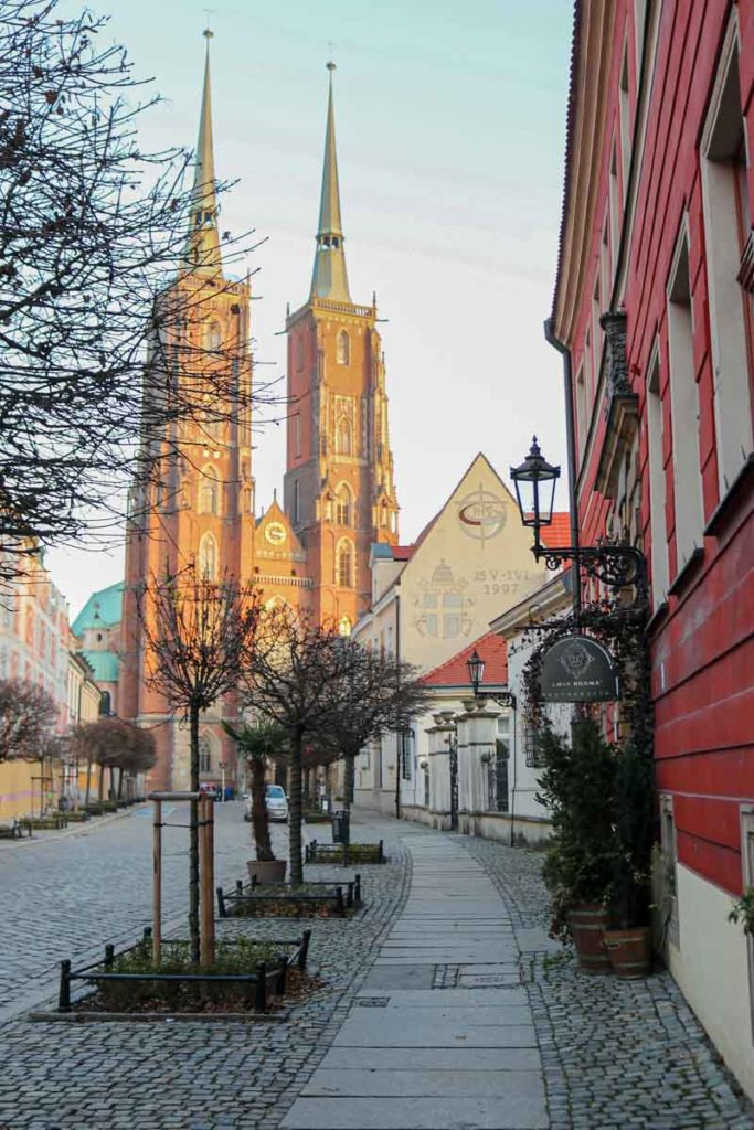 atrakcje Wrocławia Ostrów Tumski