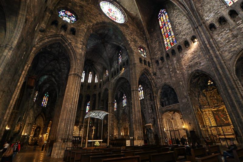girona zwiedzanie katedra w gironie