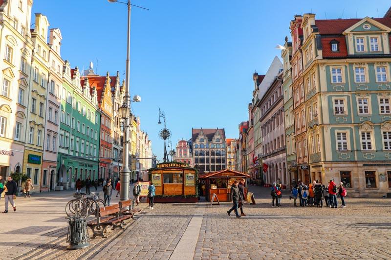 atrakcje Wrocławia rynek we Wrocławiu