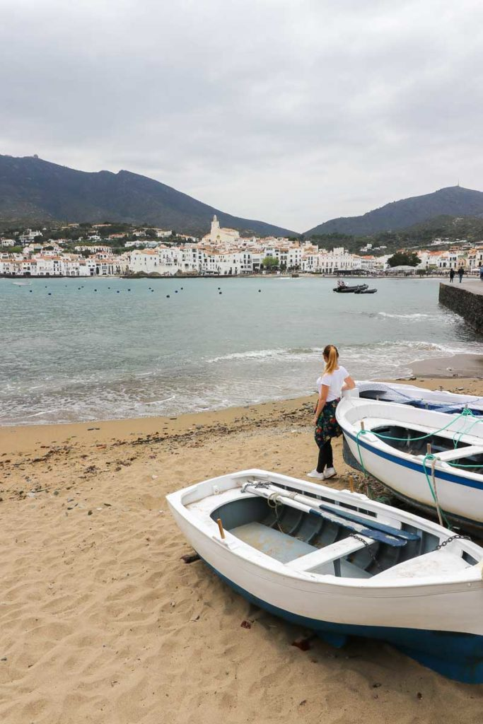 plaże w Cadaques