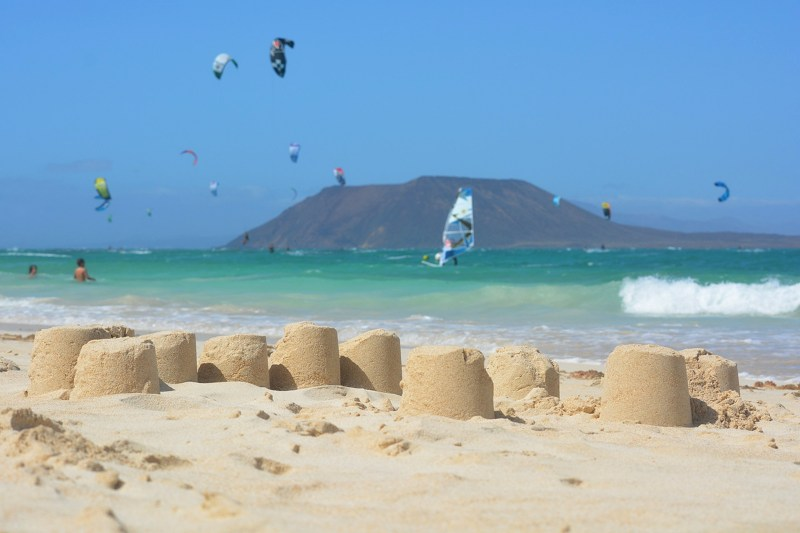 fuerteventura plaża ocean