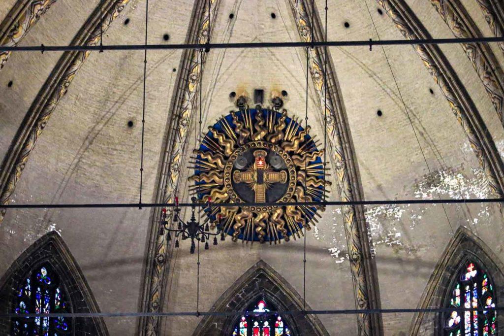 Katedra Mediolan wnętrza