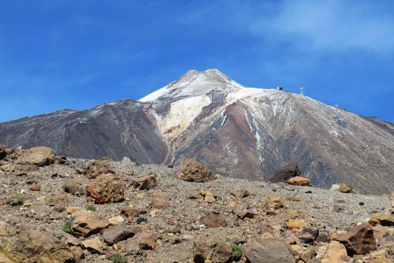 teneryfa wulkan teide wyspy kanaryjskie