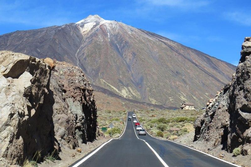 wyspy kanaryjskie teneryfa droga wulkan teide