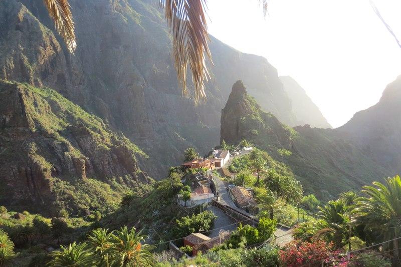 wyspy kanaryjskie teneryfa osada masca