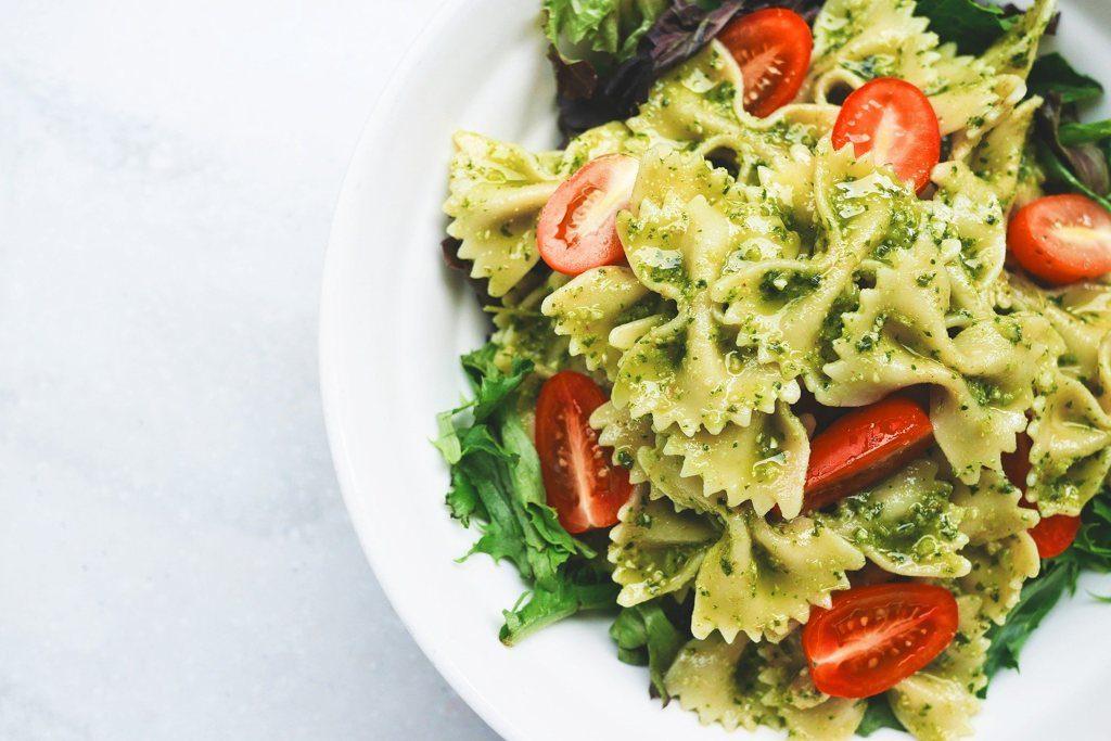 10 prostych potraw makaron pesto