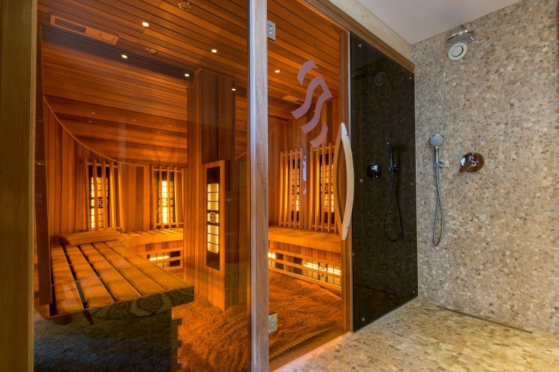 wakacje z dzieckiem sauna