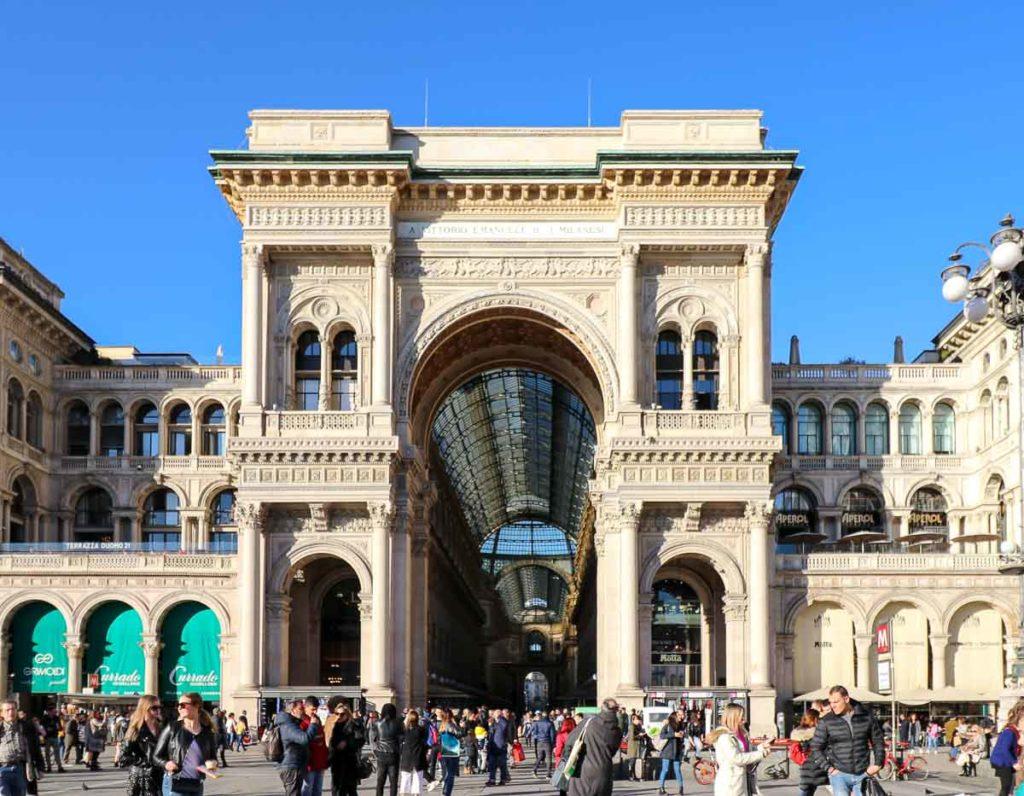 mediolan galeria Vittorio Emanuele