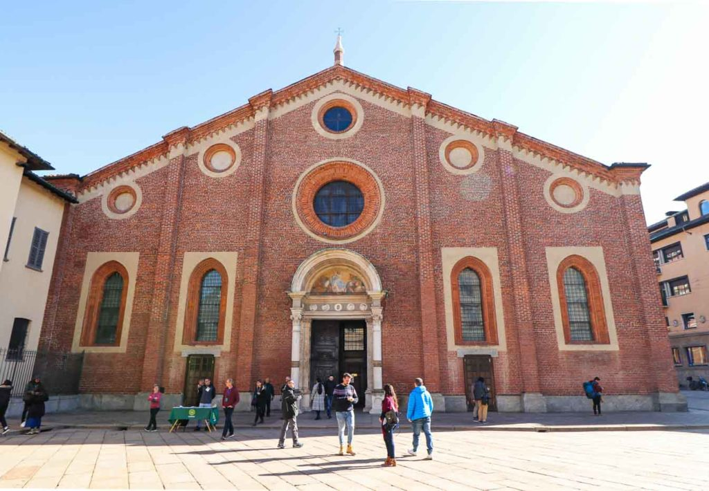 Kościół Santa Maria delle Grazie Mediolan