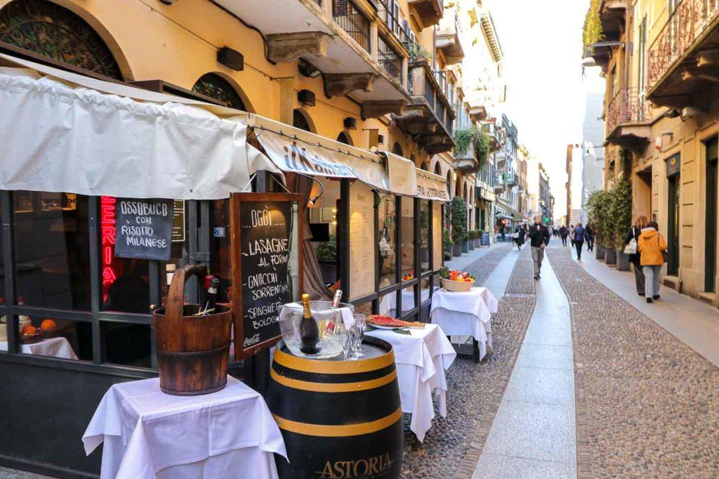 Mediolan atrakcje turystyczne dzielnica brera