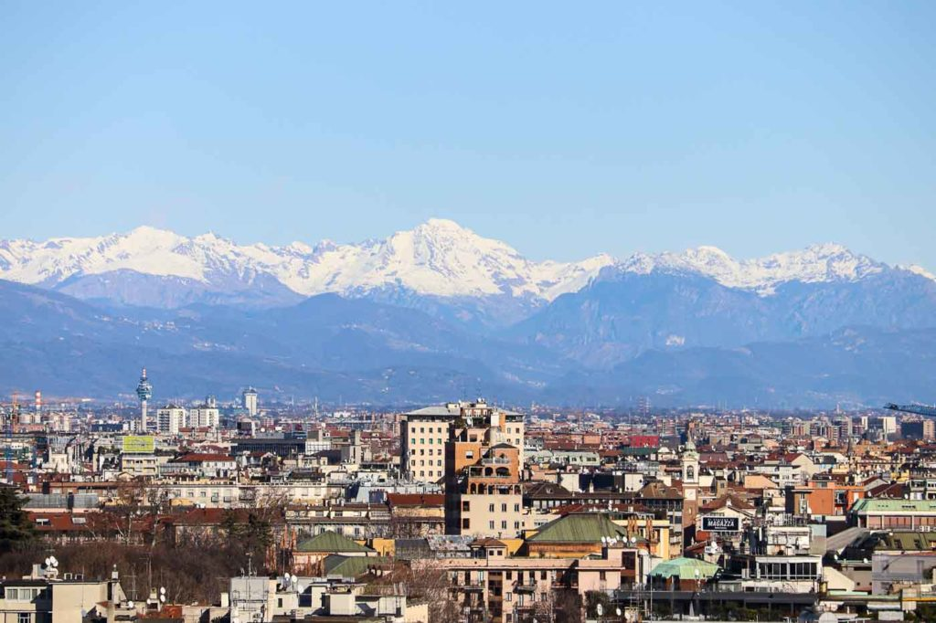panorama Mediolanu