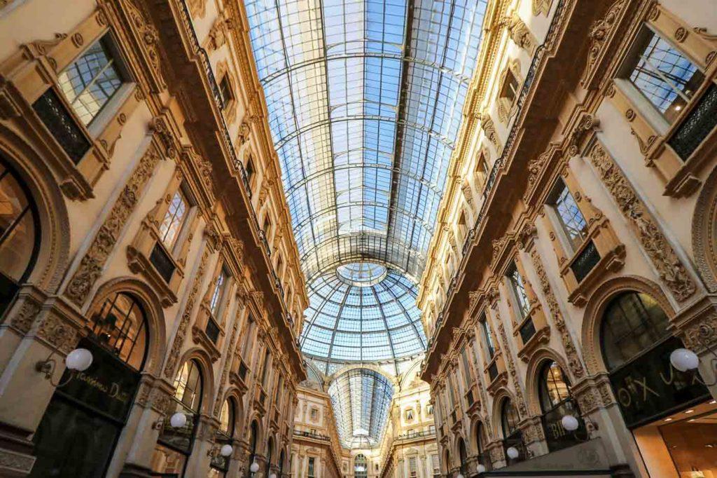 galeria vittorio emanuele Mediolan