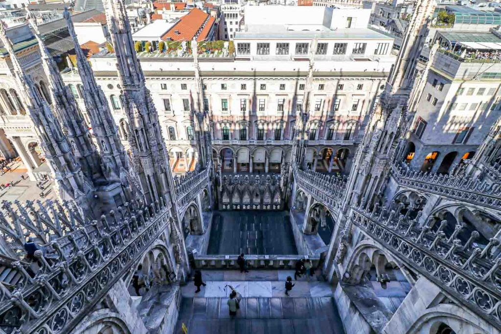 Mediolan katedra Dom de Milan